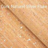 Cork Naturel Silver Flake